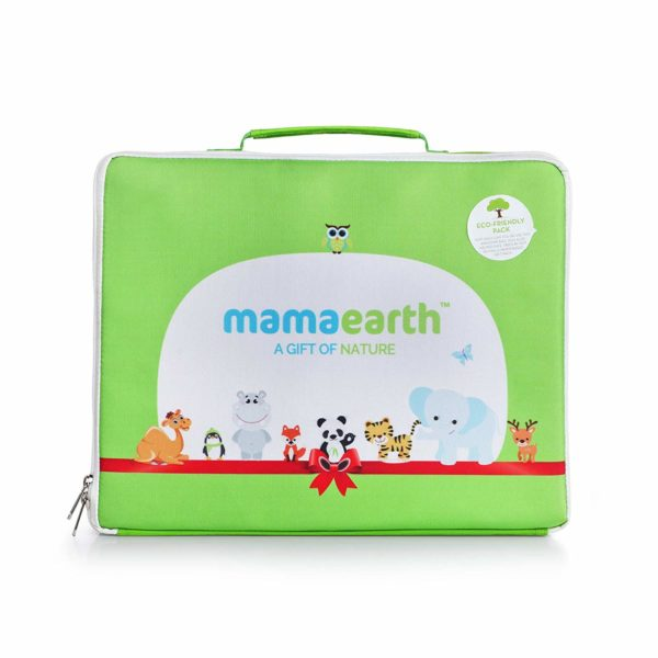Mamaearth Baby Nature Gift Pack with 7 Everyday Essentials